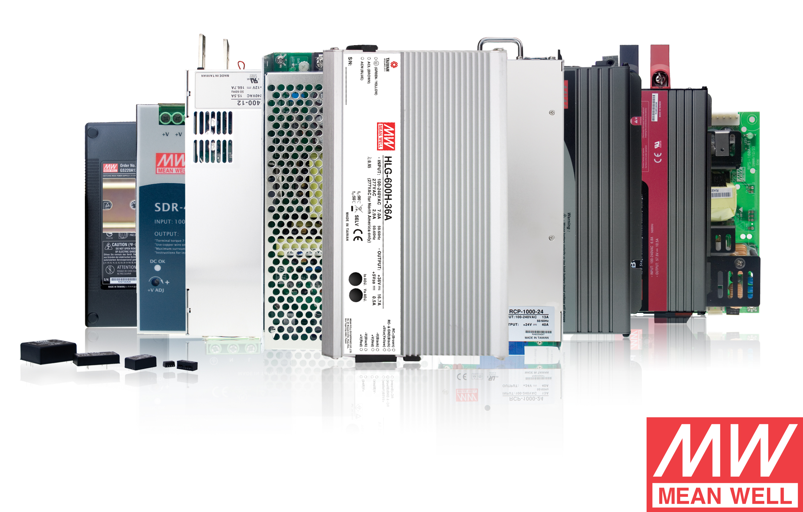 MEAN WELL power supplies stock in Australia