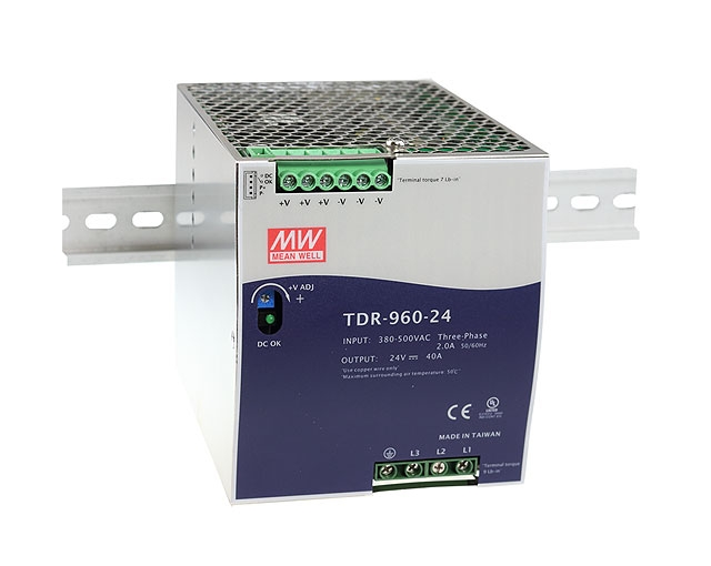 MEAN WELL TDR-960 POWER SUPPLY