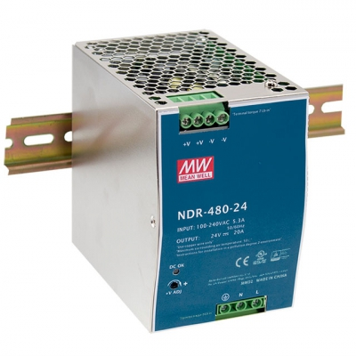 MEAN WELL NDR-480-24
